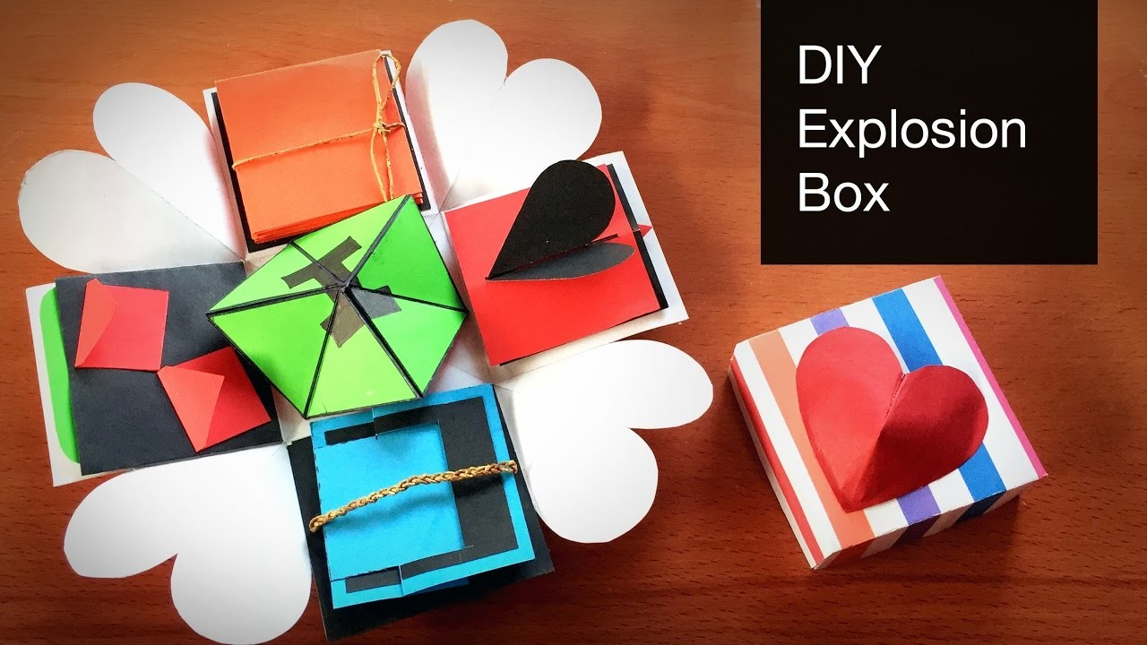 Diy Crafts For Explosion Box