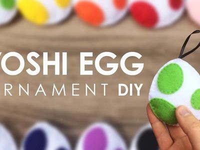 DIY Felt Yoshi Egg [ORNAMENT]