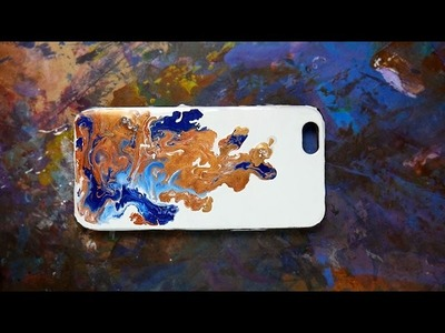 DIY Fluid Phone Case