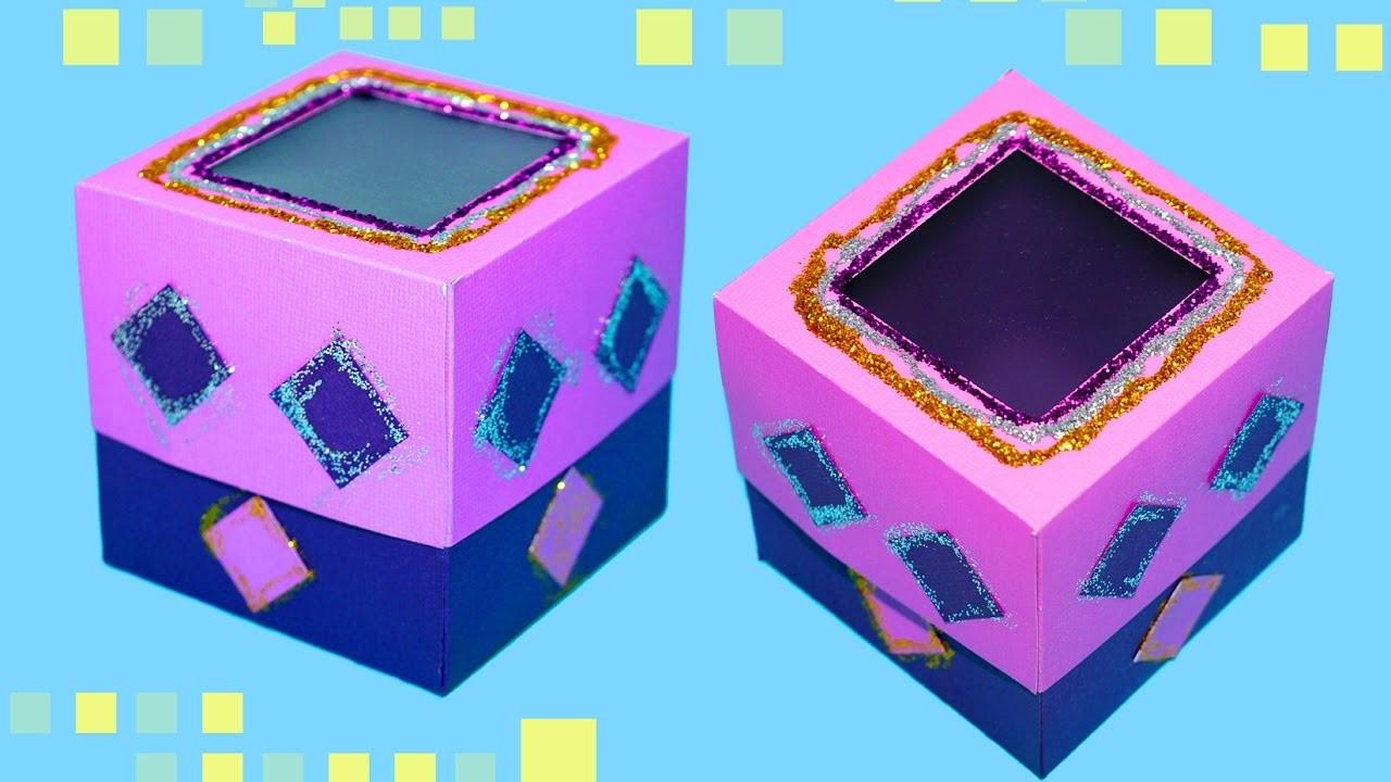 DIY gift box for boyfriend. Easy gift box making ideas. Paper craft ideas for birthday. Julia DIY