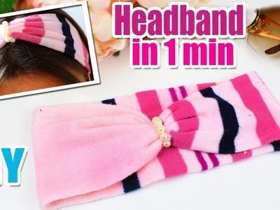 DIY HEADBAND CUTE & FAST TUTORIAL | Hair Band EASY