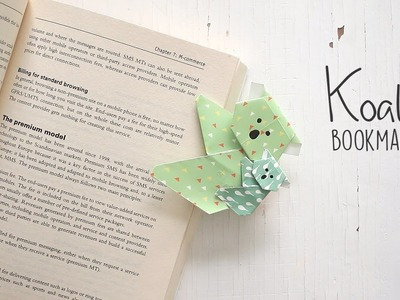 DIY: Koala Bookmark