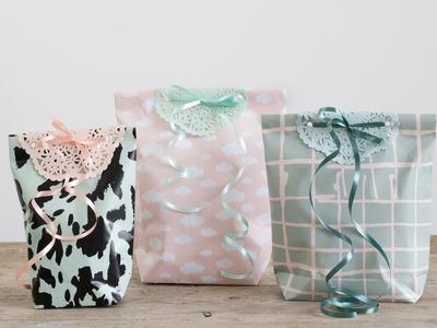 DIY : Make personal gift bags by Søstrene Grene