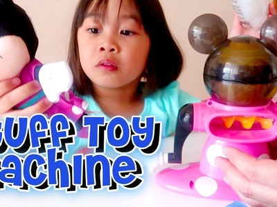 DIY Mini Stuffed Toy Kit Minnie Mouse and Cinderella | Playtime with Elise | Kids Play O'Clock