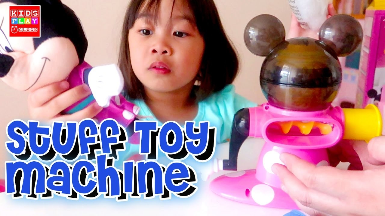 DIY Mini Stuffed Toy Kit Minnie Mouse and Cinderella   Playtime with Elise   Kids Play O'Clock