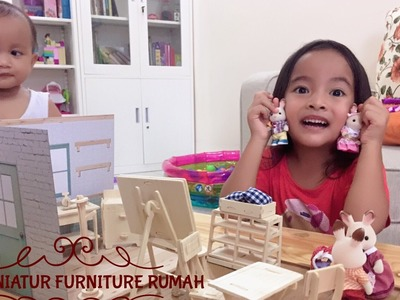 DIY Miniatur Furniture Rumah dari Kayu ????Wood Craft from Japan