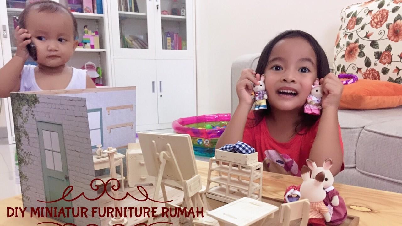 DIY Miniatur Furniture Rumah dari Kayu ????Wood Craft from Japan