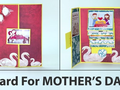 DIY Mother's Day Cards - Gatefold Handmade Card For Mother's Day