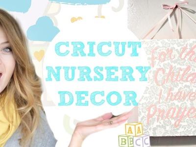 DIY Nursery Decor with the Cricut Explore Air 2