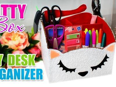 DIY ORGANIZER | DIY Home Decor & Organization Desk [from the Carton]