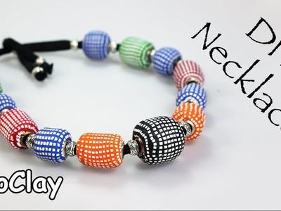 DIY Pandora bead and mosaic decoration -  Polymer clay tutorial