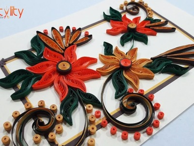 DIY Paper Quilling Card | How to make Birthday Greeting Card | Step by step | Paper Quilling