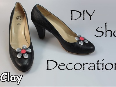DIY Shoe decorations - Polymer clay tutorial