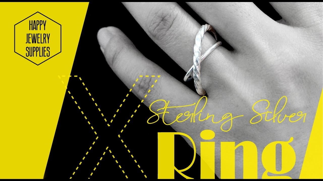 DIY Tutorial-How to Make a Sterling Silver Cross Rings