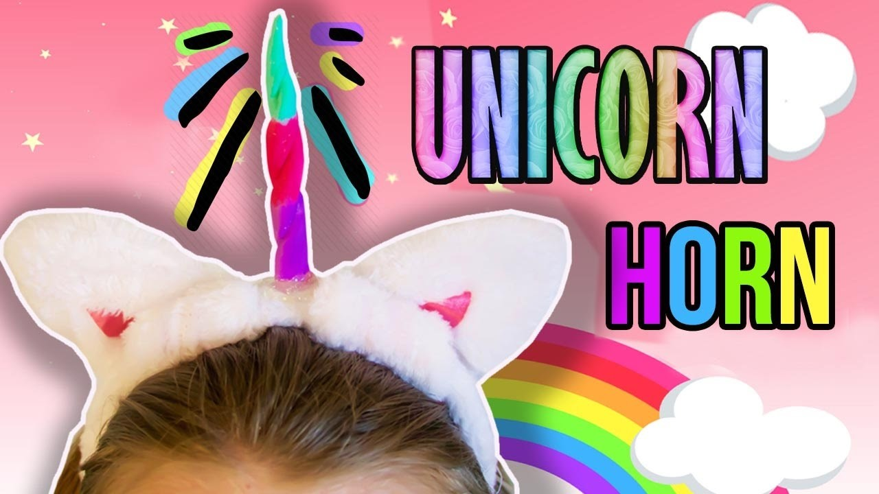 DIY Unicorn Horns | $2 Dollars a piece!