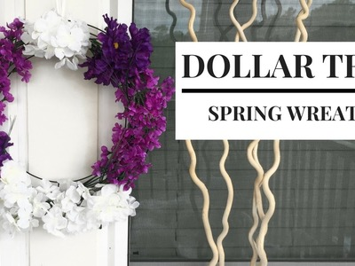 Dollar Store DIY Spring Wreath