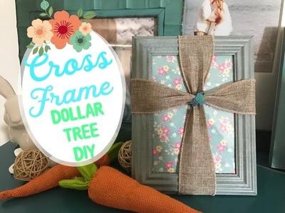 Dollar Tree DIY. Cross Frame