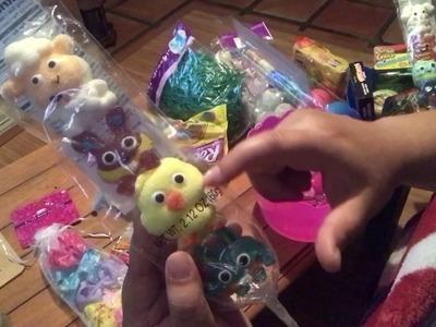 Easter Basket DIY on a budget- Family Dollar Easter haul