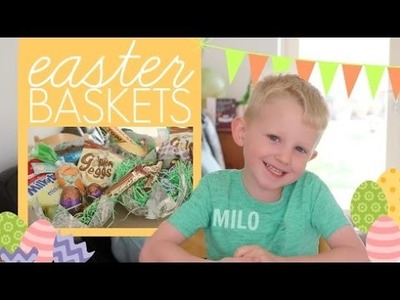 Easy Easter Baskets. DIY With Milo
