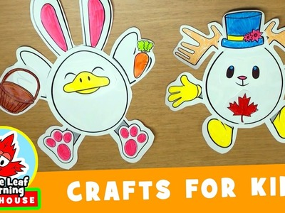 Egg Friends Easter Craft for Kids | Maple Leaf Learning Playhouse