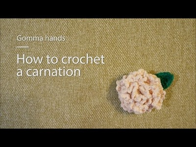 [Gomma hands]How to crochet a carnation for mother's day([곰마핸즈]어버이날 카네이션 코바늘뜨기)