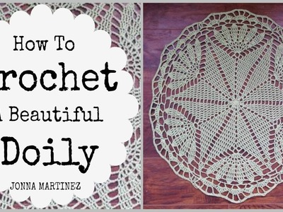 How to Crochet A Beautiful Doily