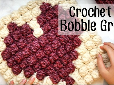 How to Crochet a Bobble Stitch Graph