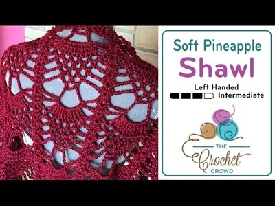 How to Crochet A Shawl: Pineapple