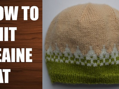 How to knit a hat Baby hat Toddler hat Wika crochet