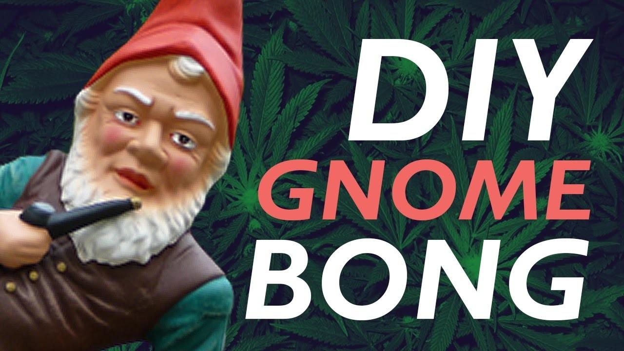How To Make a DIY Gnome Bong