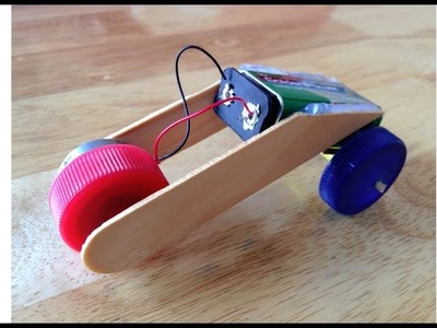 How to Make A Motorcycle | DIY Toy Motor With  Moter