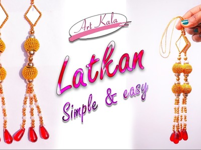 How to make latkan. tassels at home | step by step making | DIY | Artkala 156