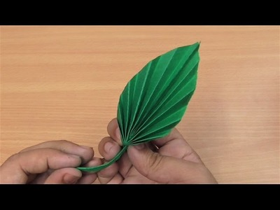 How to make simple & easy paper leaf | DIY Paper Craft Ideas, Videos & Tutorials.