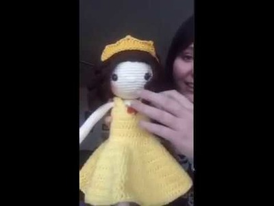 How to Sew Head on Crochet Doll