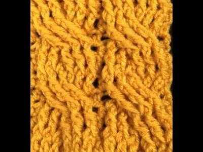 Large Post Crochet Cable by Bonnie Barker
