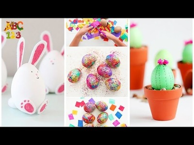 Learn How to Dye & Color Easter Eggs - Easter Egg Coloring DIY Video - Learning Video For Kids