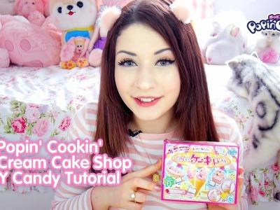 Popin' Cookin' Ice Cream Cake Shop ❤ DIY Candy Tutorial