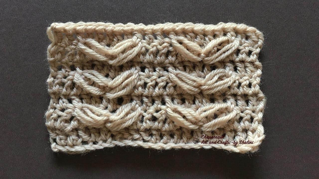 #Stepbystep #DIY #Crochet - #LoopStitch #Variations -6 For #beginners – Episode 32