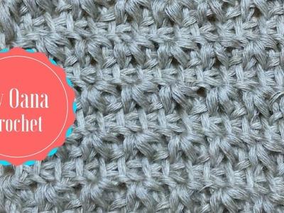 Tunisian crochet star stitch