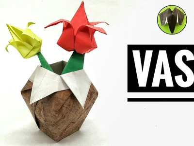 VASE - DIY Tutorial by Paper Folds