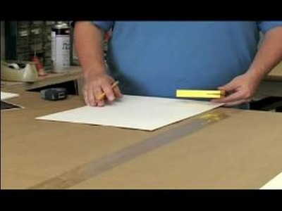 All About Picture Framing : How to Cut the Mat for a Picture Frame