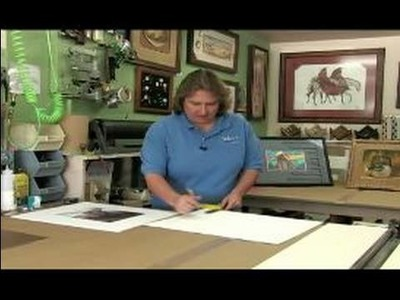 All About Picture Framing : How to Do the First Mat of a Double-Mat Picture Frame