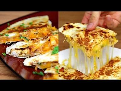 BBQ Chicken Quesadillas - How to Make BBQ chicken Quesadillas - BuzzFeed Food VIDEO