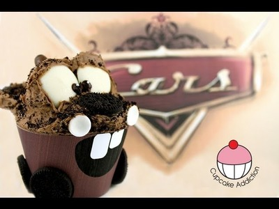 Cars Cupcakes! Make a Tow Mater Cup Cake - A Cupcake Addiction How To Tutorial