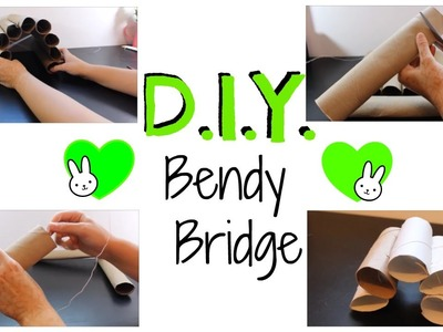 DIY Bendy Bridge for Small Animals
