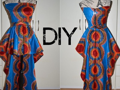 DIY I How To Make A High Low Peplum Top I Beginner Sewing