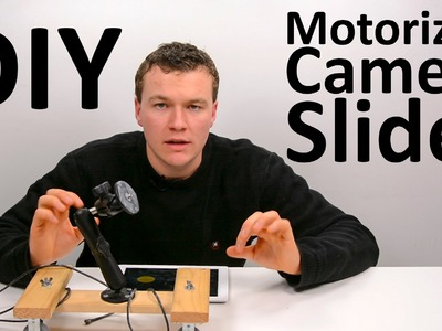 DIY Motorized Camera Slider with Motrr