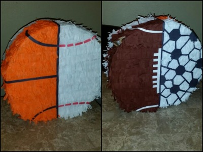 DIY Sports Piñata Tutorial by Ambaruchii