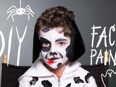 Dog Makeup - Halloween Face Paint