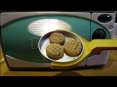 Easy Bake Oven Peanut Butter Cookies!